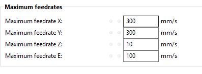Adjusting speed - slic3r?   Duet3D