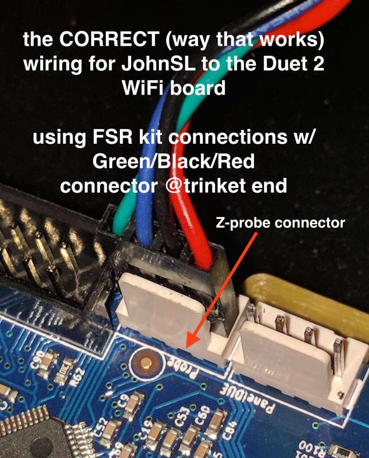 DUET 2 WiFi FSR no workie - config? | Duet3D
