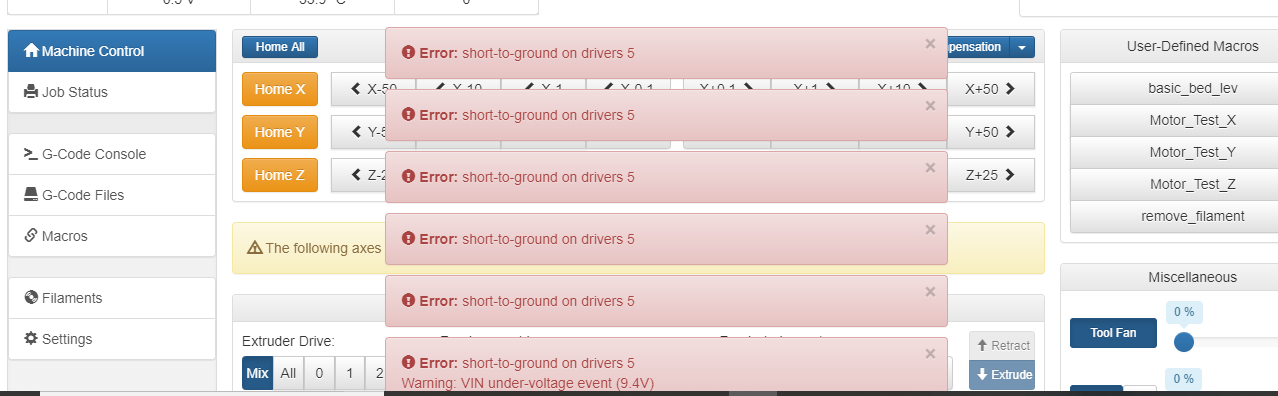 error short-to-drive-ground on drivers 5.PNG