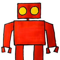 Red Sand Robot